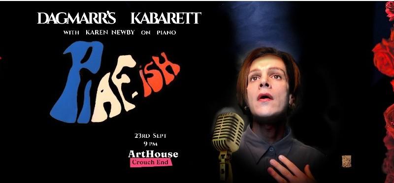 Dagmarr's Kabarett: Piaf-ish image