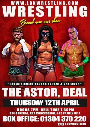 LDN Wrestling April