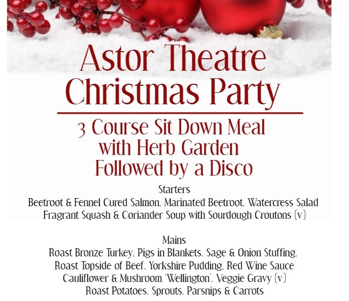 Astor Theatre Christmas Party