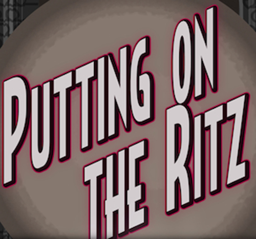 PUTTING ON THE RITZ TEA DANCE...