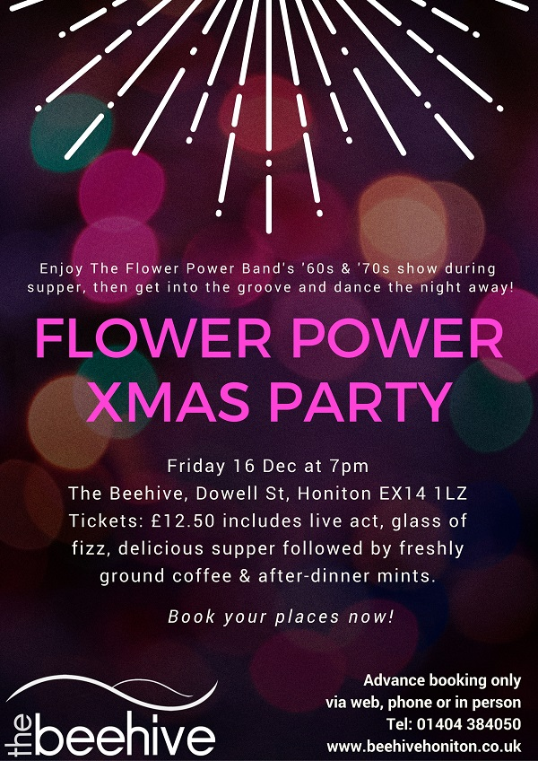 Flower Power Xmas Party