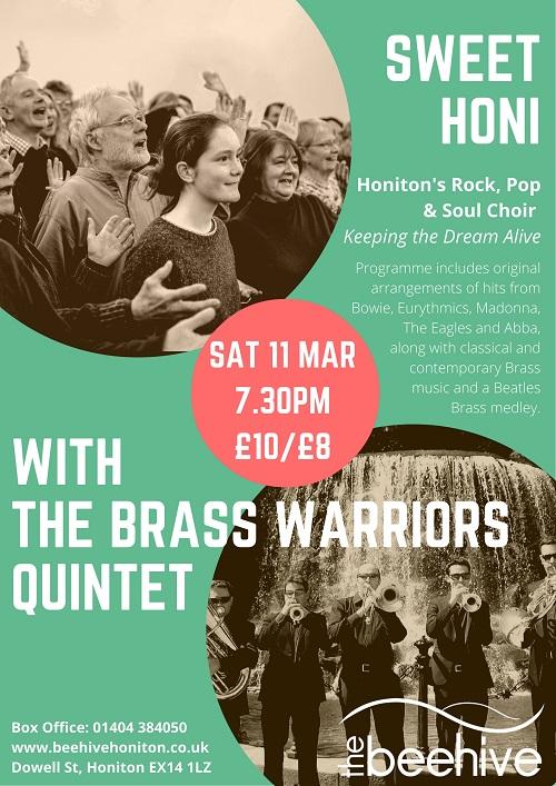 Sweet Honi Choir & Brass Warriors Quintet