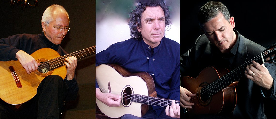 6 Hands: John Williams, John Etheridge & Gary Ryan, guitars