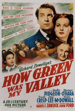 Nostalgic Cinema: How Green was my Valley