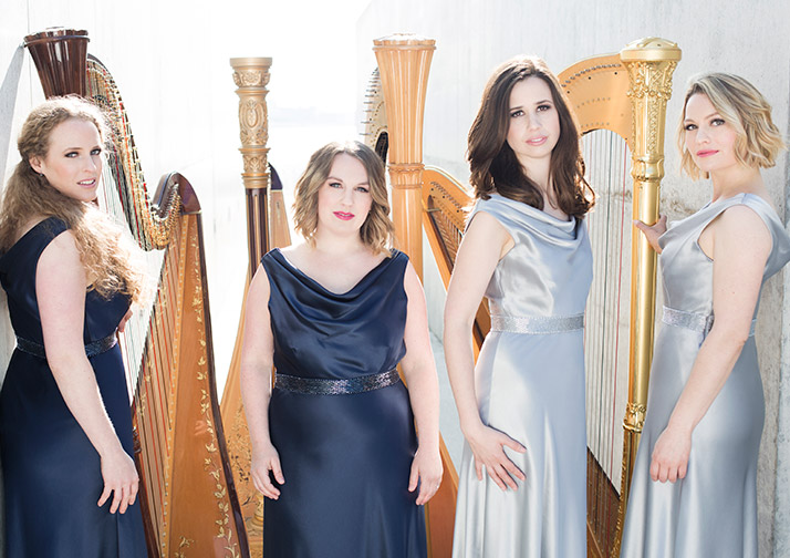 4 Girls 4 Harps - East Devon Music Festival