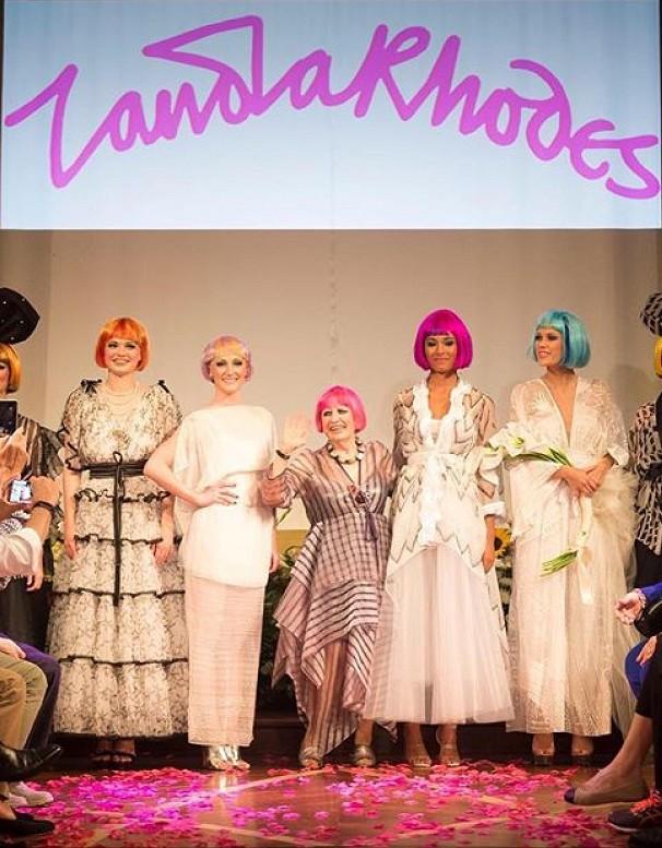 """Zandra Rhodes: 50 Years of Fashion"""