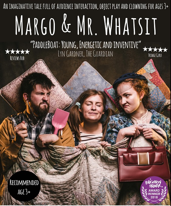 Margo and Mr Whatsit