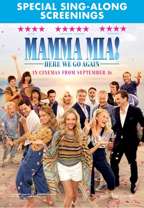 MAMMA MIA! HERE WE GO AGAIN SING-ALONG