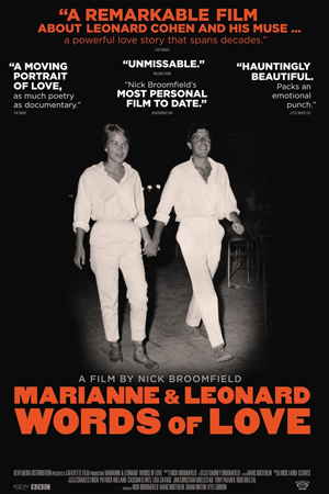 Marianne & Leonard: Words of Love + Q&A