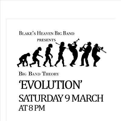 Blake's Heaven Big Band Theory 'Evolution'