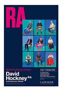 DAVID HOCKNEY AT THE ROYAL ACADEMY OF ARTS:
