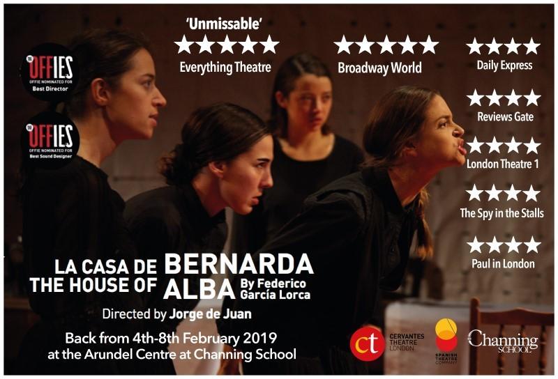 La Casa de Bernarda Alba 2019 (venue Arundel Centre)