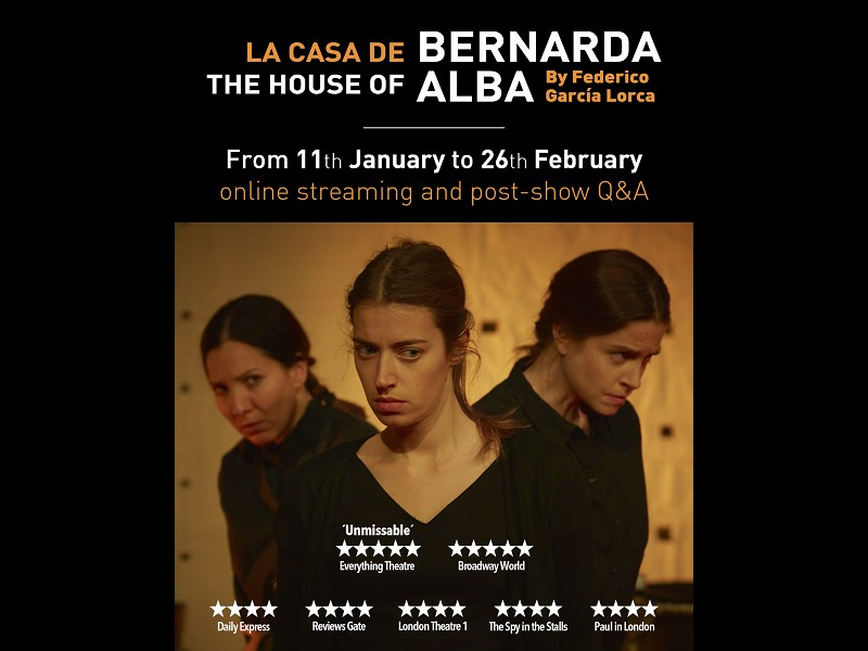 The House of Bernarda Alba January and February 2021