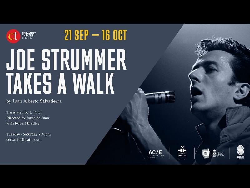 Joe Strummer Takes a Walk