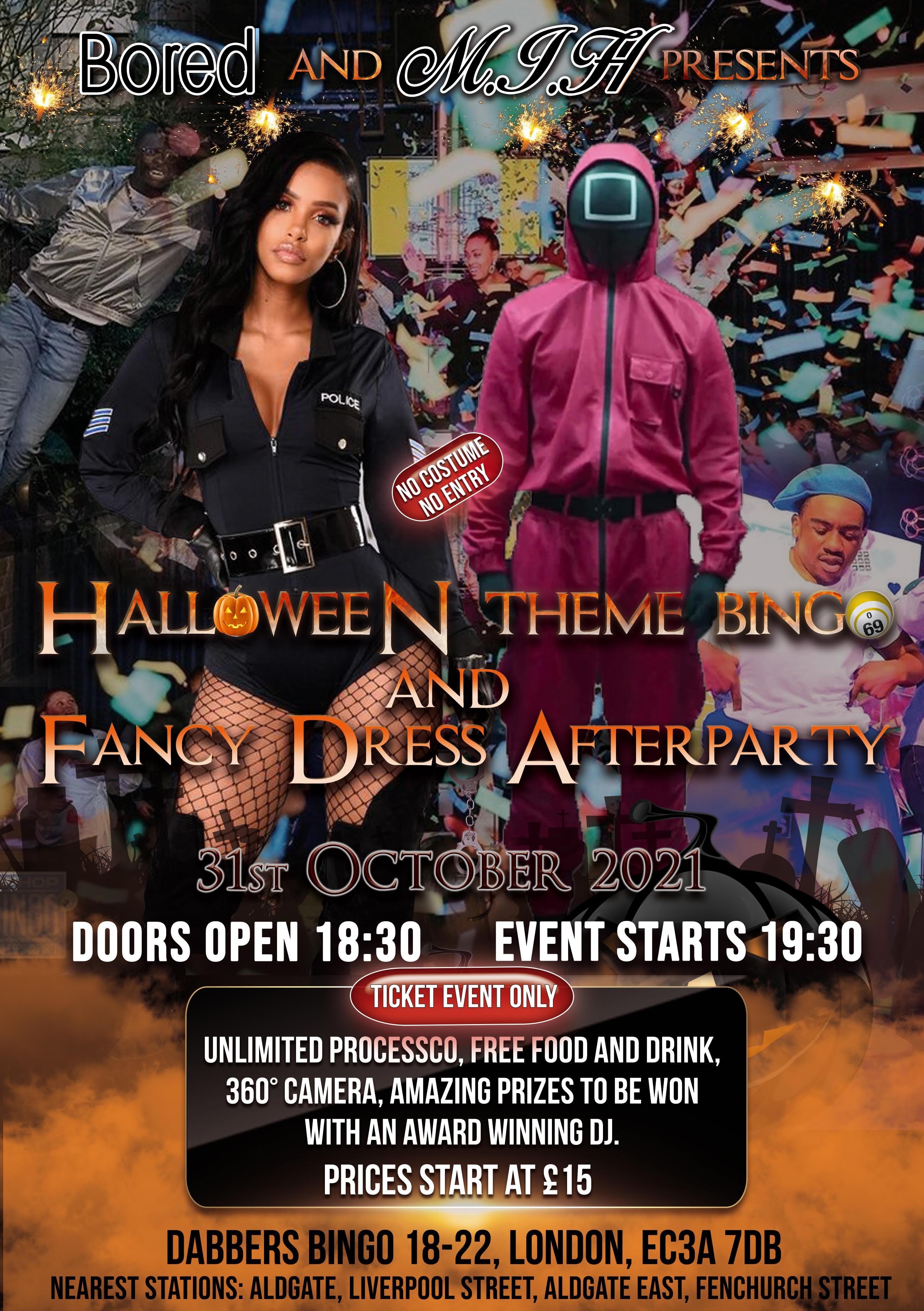 Bored and M.I.H: Halloween Bingo