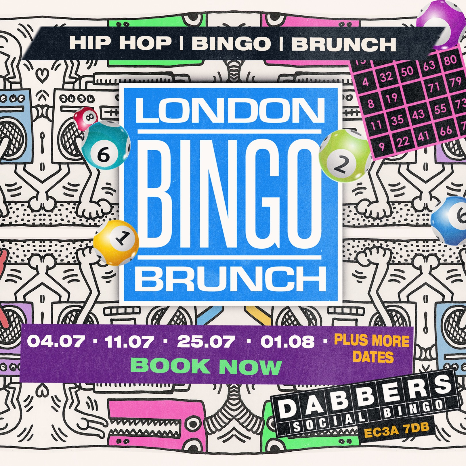 Hip Hop Bingo Brunch