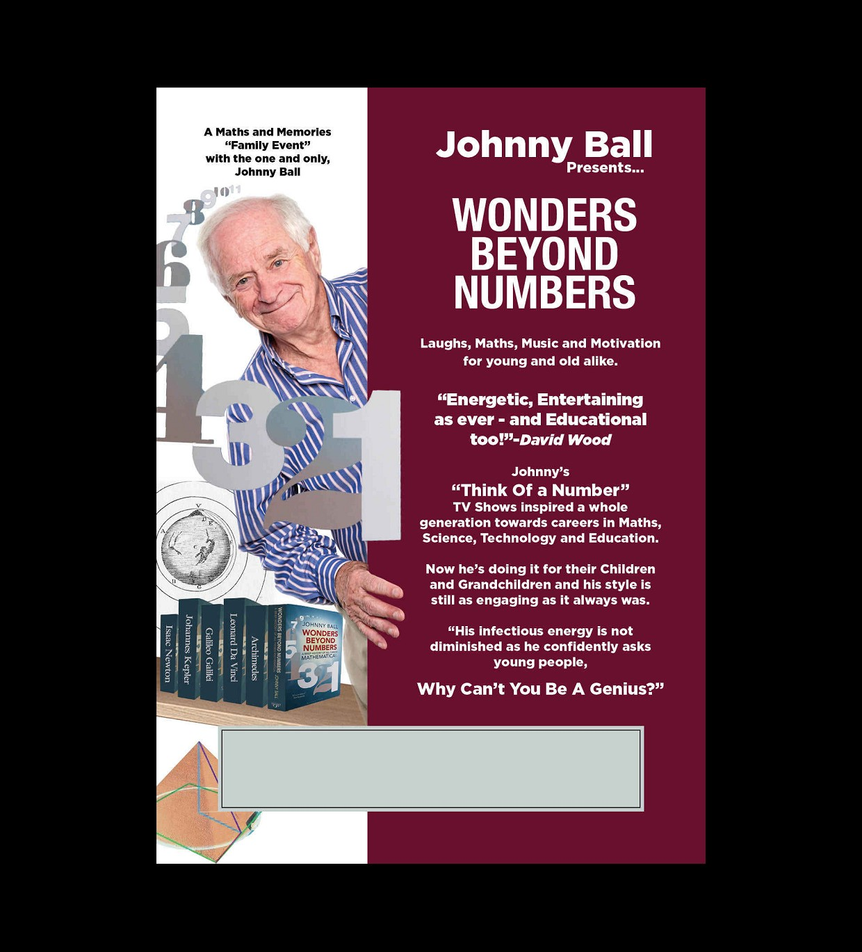 Johnny Ball's - Wonders Beyond Numbers Tour