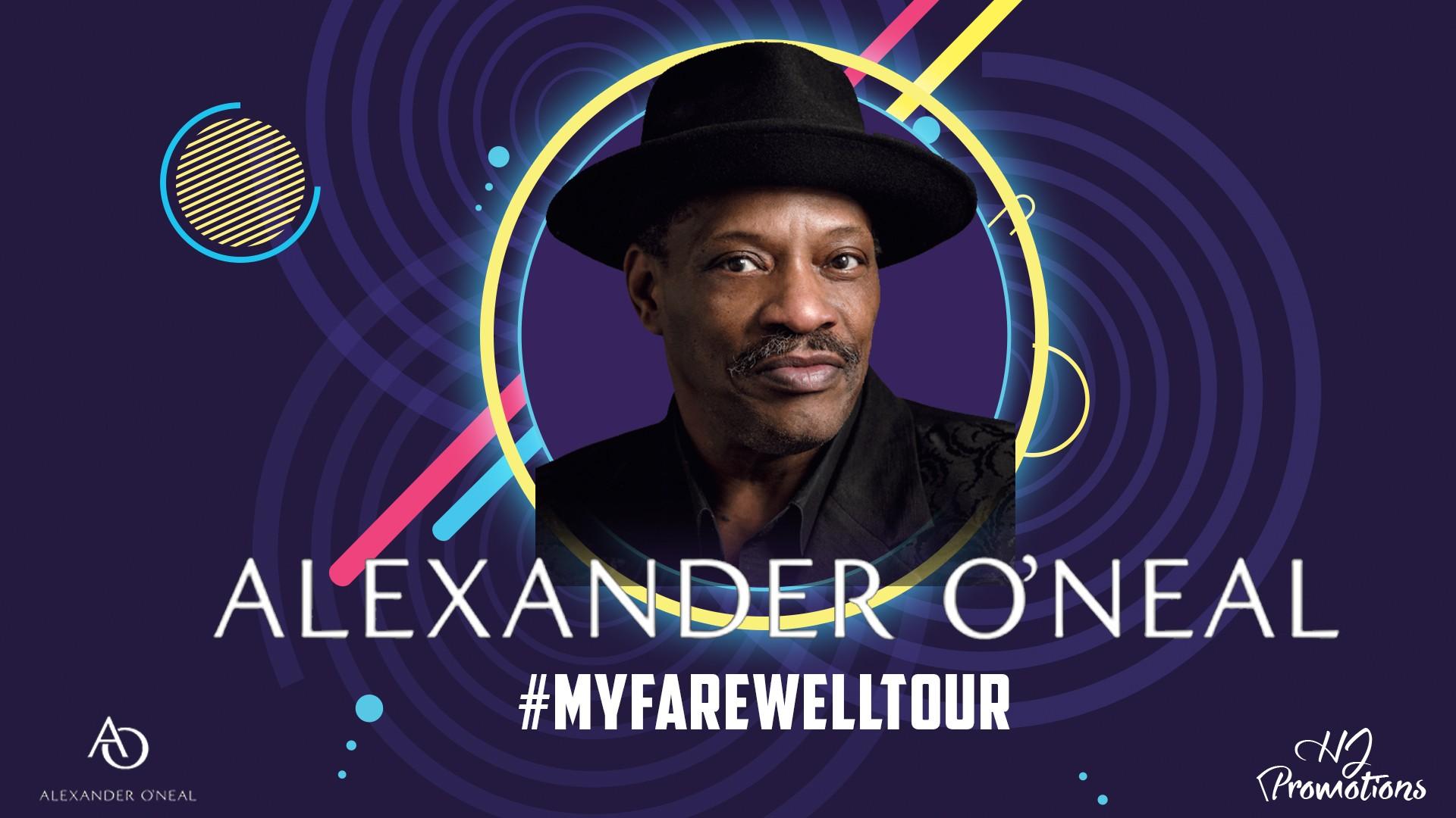 Alexander O'Neal #MyFarewellTour