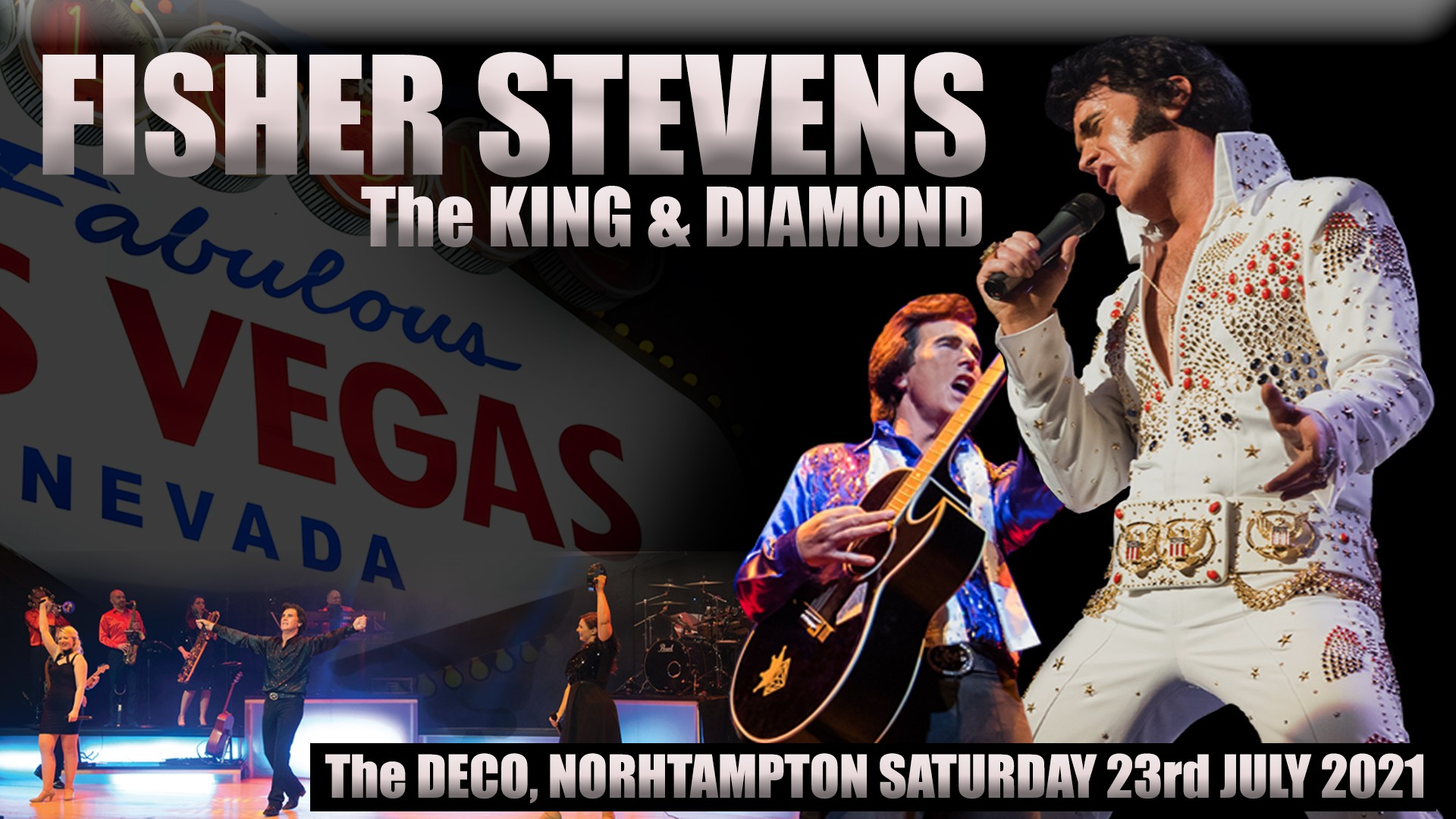 The King and Diamond show with Fisher Stevens