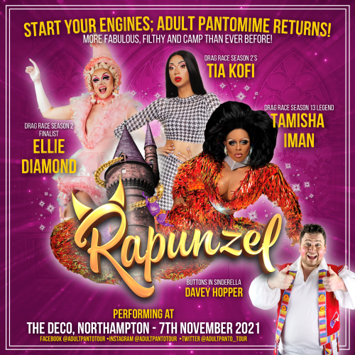 Joe Purdy Productions presents Rapunzel - The Adult Panto