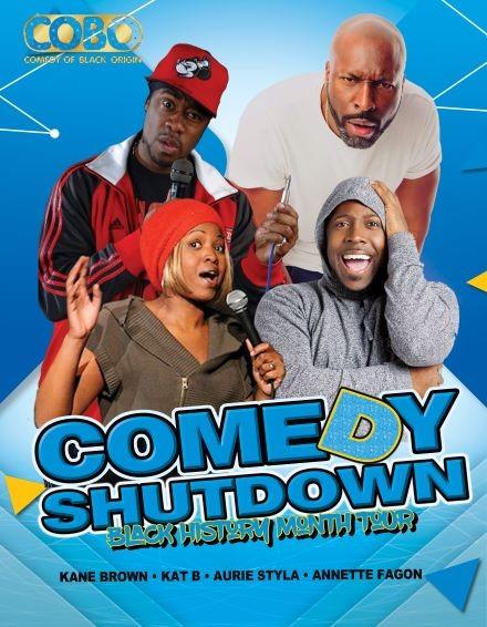 COBO : Comedy Shutdown - Black History Month Special