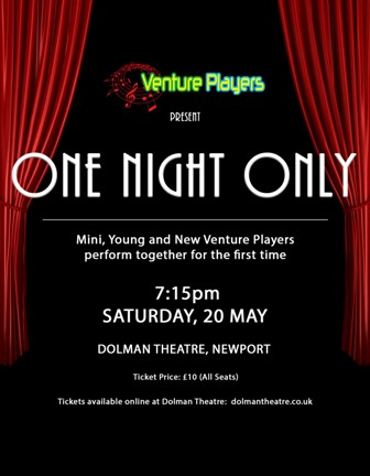 One NIght Only with Venture Players