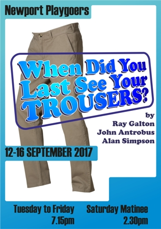 When did you last see your trousers