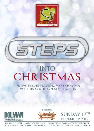 Steps into Christmas