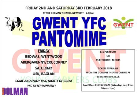 GYFC Panto 2018