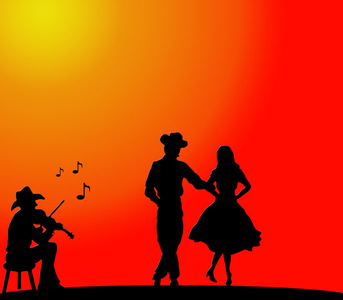 Wild West Country Dance