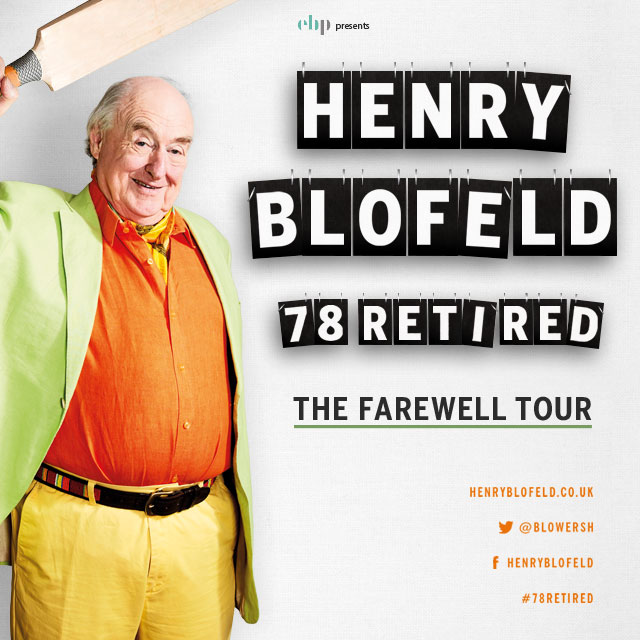 HENRY BLOFELD: 78 RETIRED