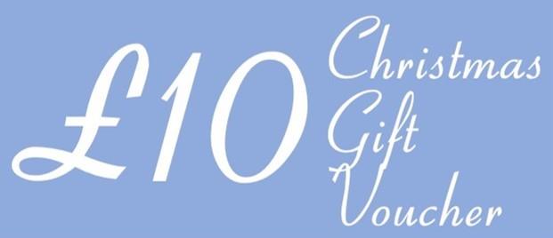 £10 Christmas Voucher