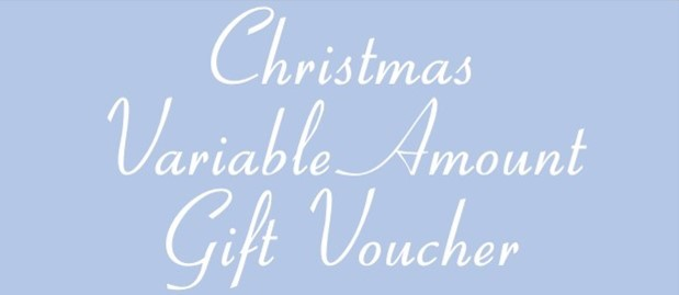 Variable Amount ChristmasVoucher
