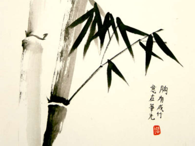 Chinese Brush Painting Half Term Workshop