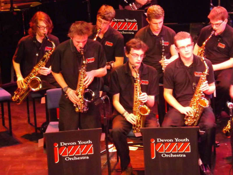 Devon Youth Jazz Orchestra 2015