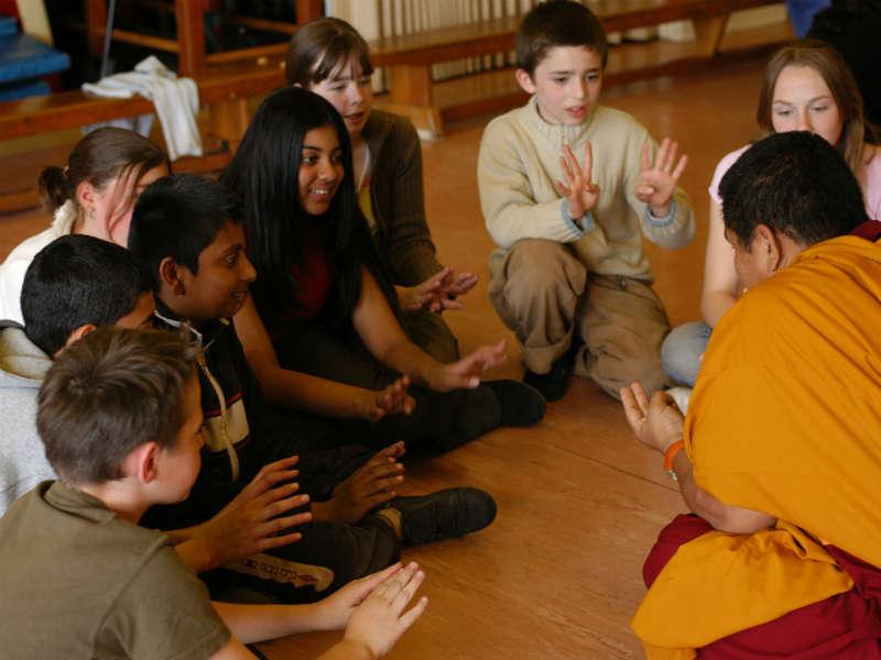 Tibetan Monks Performance Workshop