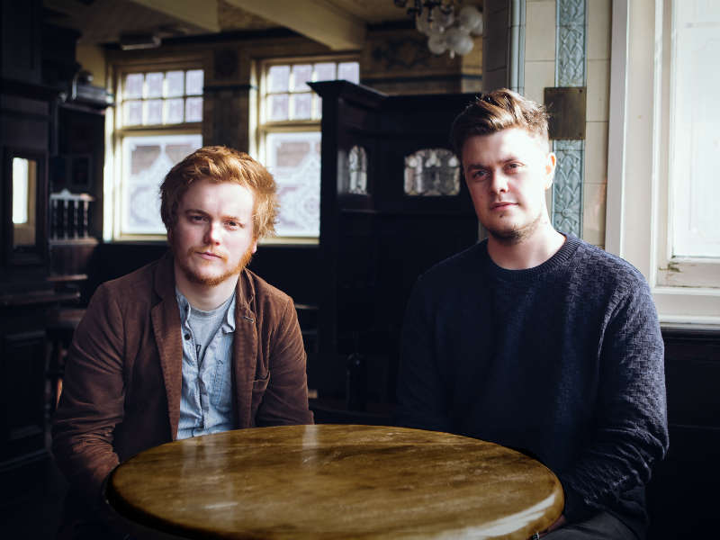 Greg Russell and Ciaran Algar