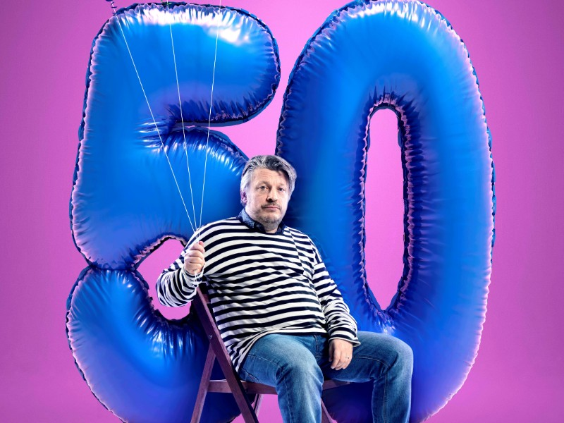 Richard Herring - Oh Frig I'm 50! - Dartmouth Comedy Festival