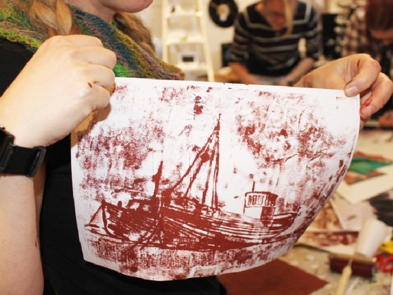 Festive Lino Printing Workshop