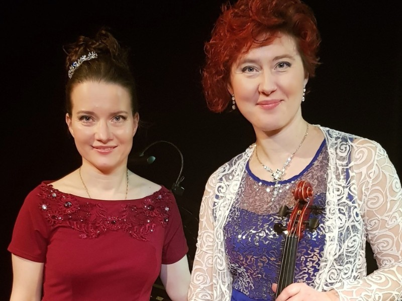 Young Artist Platform - Ekaterina Shetliffe and Yulia Northridge