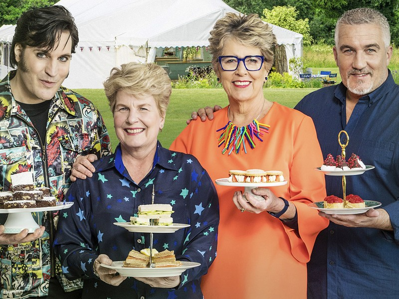 The Great British Bake-Off Final 2018