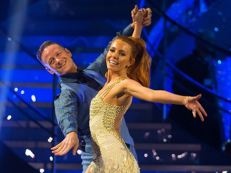 The Strictly Come Dancing 2018 Final