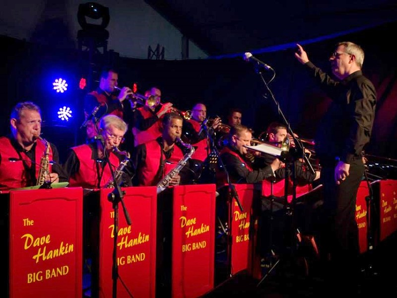 The Dave Hankin Big Band - In Full Swing