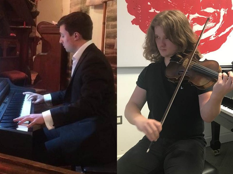 Friday Recital Series - Alex and Jack Highley