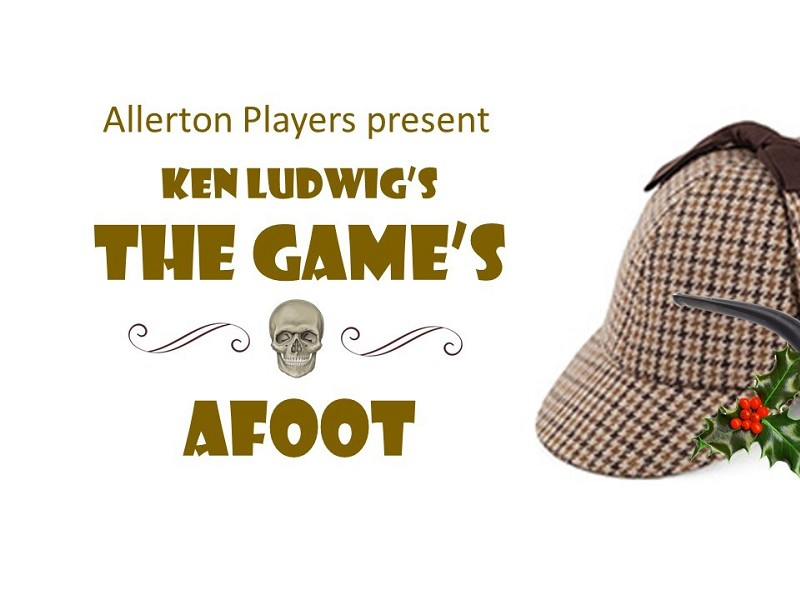 Allerton Players The Games  Afoot