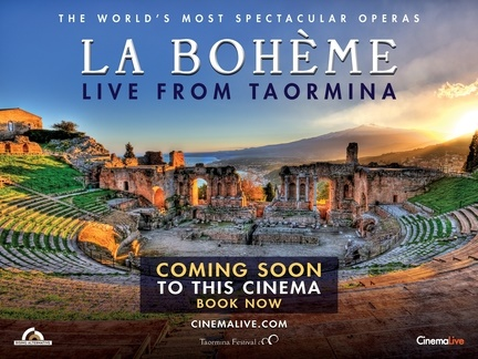 La Boheme - Live from Taormina