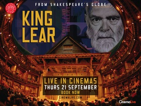 King Lear From The Globe Theatre