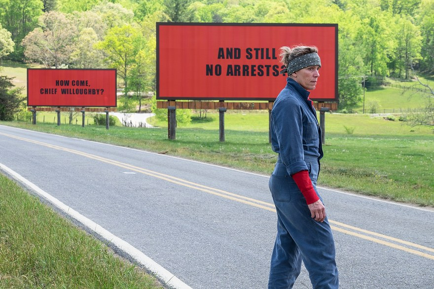 3 billboards...