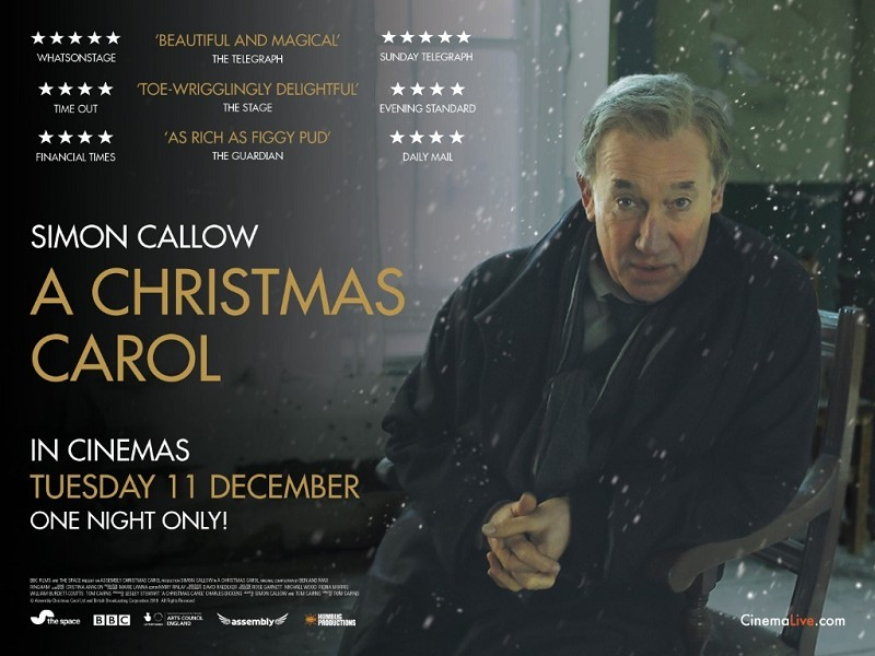 A Christmas Carol -Simon Callow