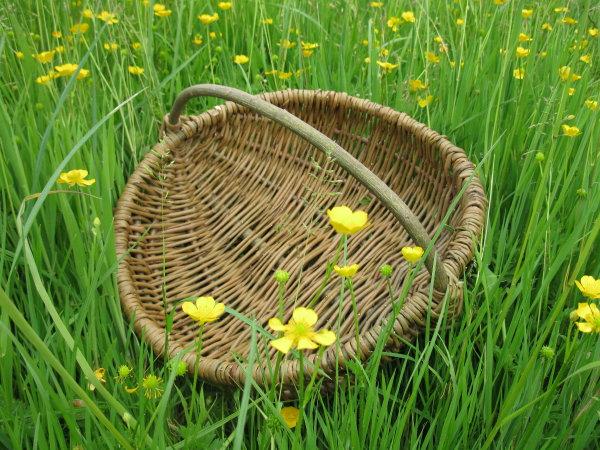 make a frame basket